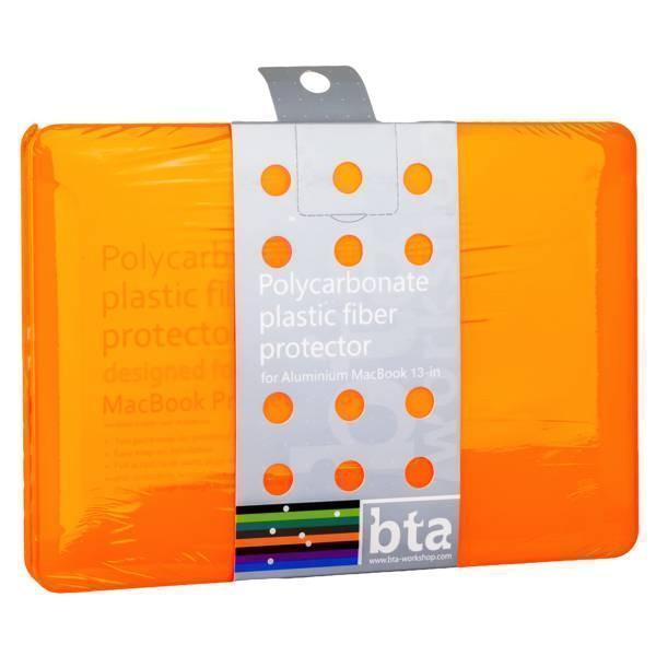 Чехол-накладка BTA-Workshop для Apple MacBook Air 13 пластик матовая прозрачно-оранжевая