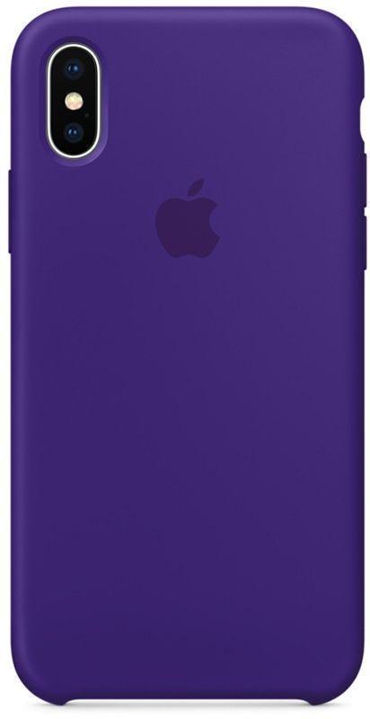 Купить Чехол-накладка Silicone Case Series для Apple iPhone XS Max ультрафиолет