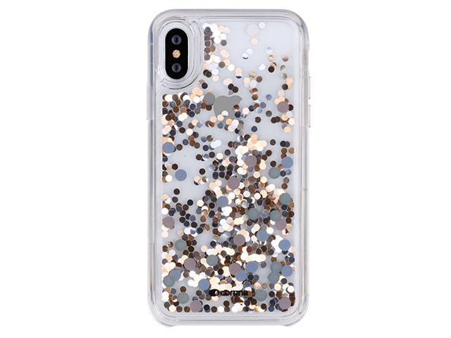 Купить Чехол-накладка Comma Pattern Series Crystal Case Star для Apple iPhone XS Max пластик Gold