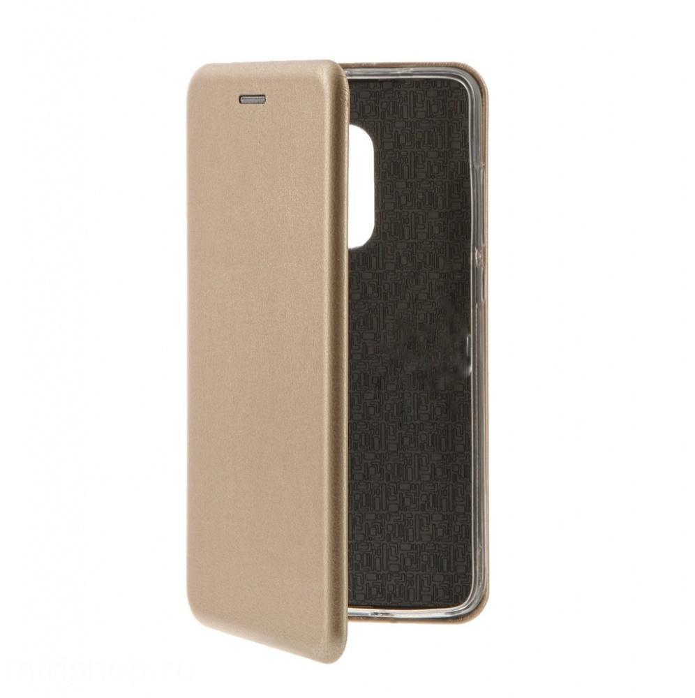 Купить Чехол-книжка Flip Case для Xiaomi Redmi Note 5A искусственная кожа, силикон (золотой)