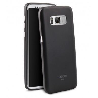 Чехол-накладка Uniq Bodycon для Samsung Galaxy S8+ (SM-G955) полипропилен черныйдля Samsung<br>Чехол-накладка Uniq Bodycon для Samsung Galaxy S8+ (SM-G955) полипропилен черный<br>
