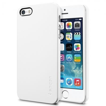 Чехол-накладка Spigen Ultra Thin Air для Apple iPhone SE/5S/5 Infinity White (SGP09505)для iPhone 5/5S/SE<br>Чехол-накладка Spigen Ultra Thin Air для Apple iPhone SE/5S/5 Infinity White (SGP09505)<br>