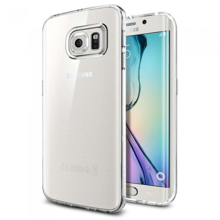 Чехол-накладка Spigen Liquid Crystal SGP11478 для Samsung Galaxy S6 Edge (кристальный)