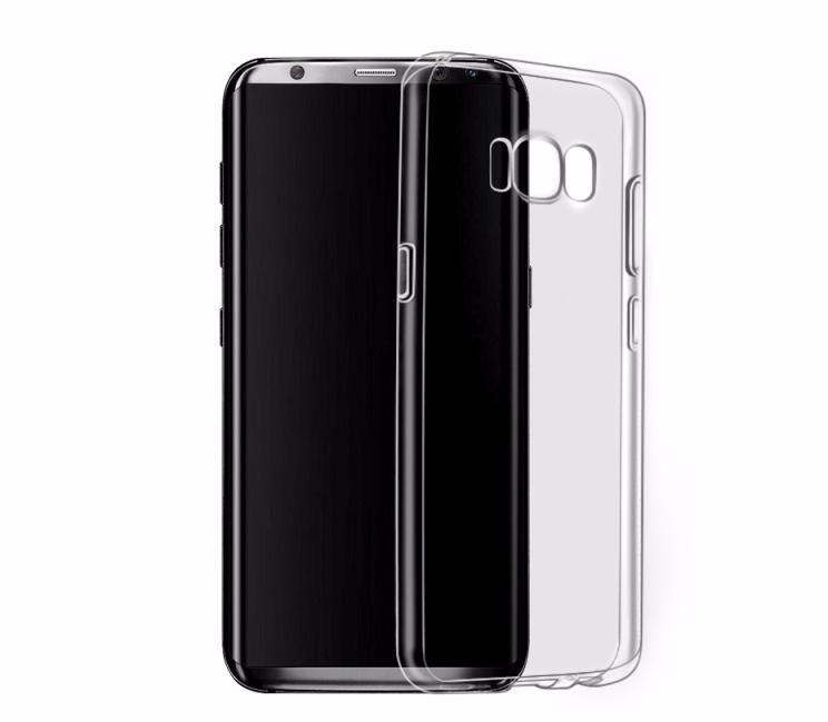 Чехол-накладка Hoco Light Series для Samsung Galaxy S8+ (SM-G955) силиконовый прозрачно-черныйдля Samsung<br>Чехол-накладка Hoco Light Series для Samsung Galaxy S8+ (SM-G955) силиконовый прозрачно-черный<br>