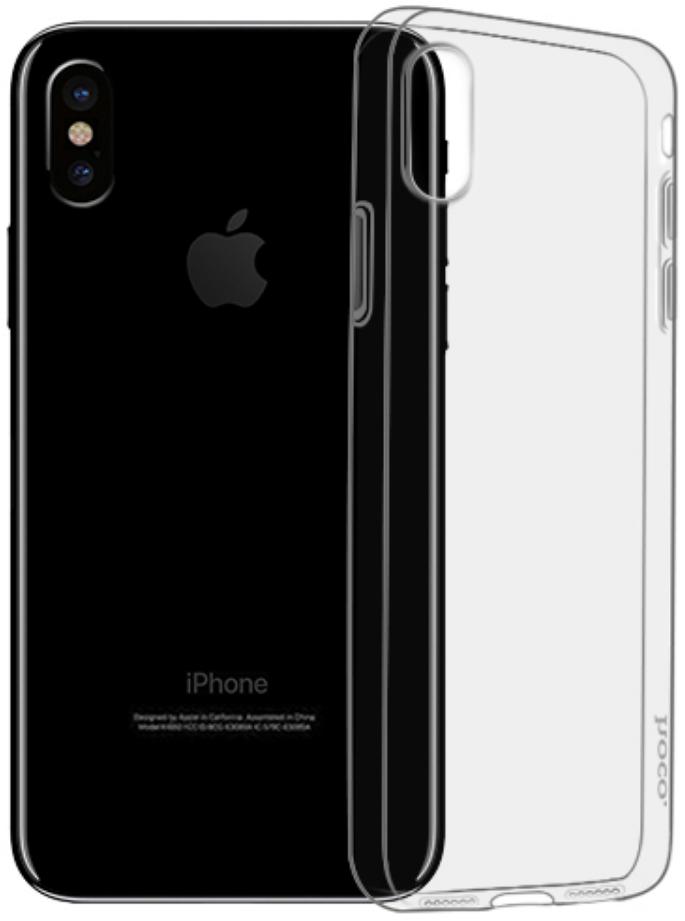 Чехол-накладка Hoco Light Series TPU для Apple iPhone XS Max силикон прозрачный