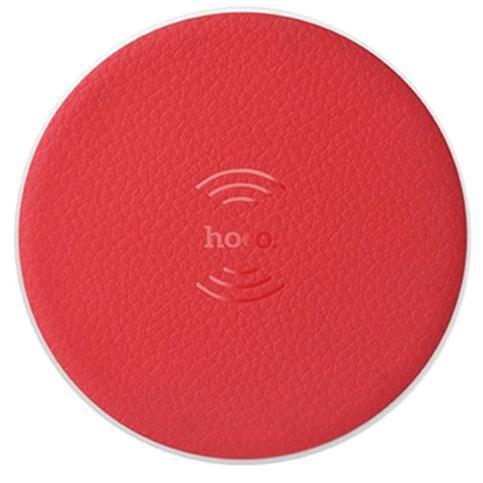 Беспроводное зарядное устройство Hoco (CW14) Wireless Charger (5V/2A) (красный)