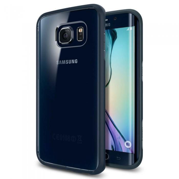 Чехол-накладка Spigen Ultra Hybrid SGP11415 для Galaxy S6 Edge (металлический)для Samsung<br>Чехол-накладка Spigen Ultra Hybrid SGP11415 для Galaxy S6 Edge (металлический)<br>