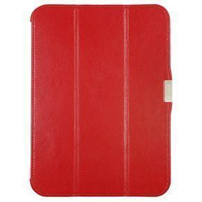 Чехол-книжка iCarer для Samsung Galaxy Tab 7.0 / Tab P1000 натуральная кожа c подставкой красный