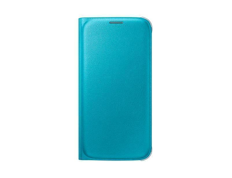 Чехол-книжка Samsung Flip Wallet для Galaxy S6 поликарбонат,полиуретан синий EF-WG920PLEGRUдля Samsung<br>Чехол-книжка Samsung Flip Wallet для Galaxy S6 поликарбонат,полиуретан синий EF-WG920PLEGRU<br>
