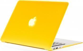 Пластиковый чехол Daav HardShell Satin для Macbook Pro with Retina Display 13 желтыйдля Apple MacBook Pro 13 with Retina display<br>Пластиковый чехол Daav HardShell Satin для Macbook Pro with Retina Display 13 желтый<br>