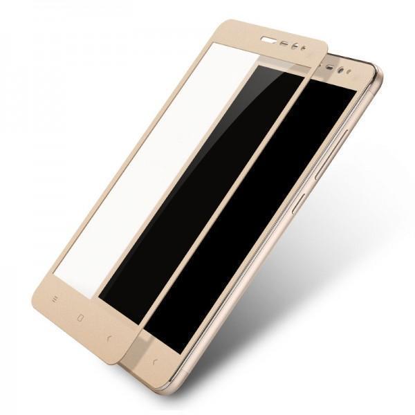 Защитное стекло Glass PRO (Full) Screen для Xiaomi Redmi Note 3 / 3 Pro цветное золотая рамкадля Xiaomi<br>Защитное стекло Glass PRO (Full) Screen для Xiaomi Redmi Note 3 / 3 Pro цветное золотая рамка<br>