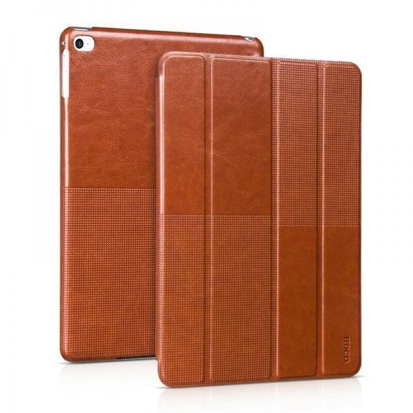 Чехол-книжка Hoco Fashion Series для Apple iPad Air 2 (искусственная кожа с подставкой) Brownдля Apple iPad Air 2<br>Чехол-книжка Hoco Fashion Series для Apple iPad Air 2 (искусственная кожа с подставкой) Brown<br>