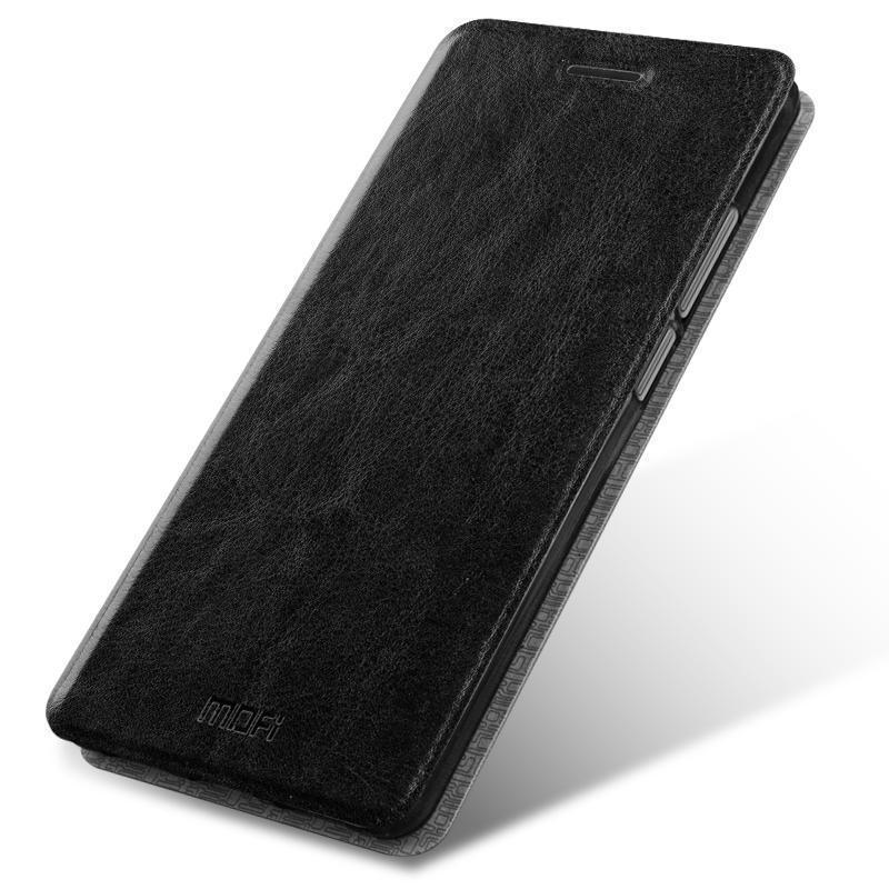 Купить Чехол-книжка Mofi Case для Xiaomi Redmi 5A искусственная кожа, силикон (черный)