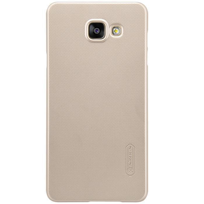 Чехол-накладка Nillkin Frosted Shield для Samsung Galaxy A5 (2016) SM-A510 пластиковый золотойдля Samsung<br>Чехол-накладка Nillkin Frosted Shield для Samsung Galaxy A5 (2016) SM-A510 пластиковый золотой<br>