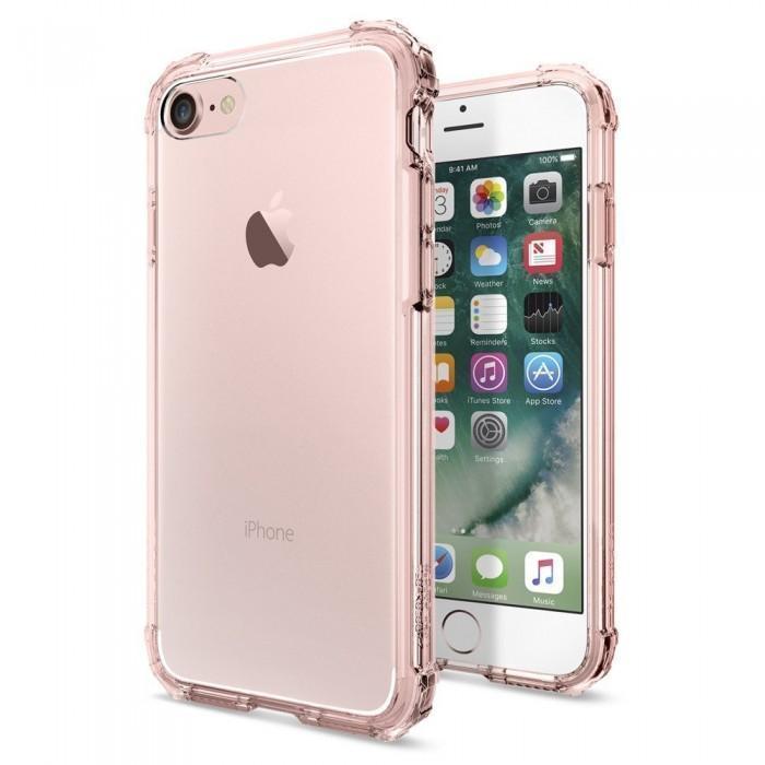Чехол-накладка Spigen Crystal Shell для Apple iPhone 7/8 Rose Crystal (SGP 042CS20308)для iPhone 7/8<br>Чехол-накладка Spigen Crystal Shell для Apple iPhone 7/8 Rose Crystal (SGP 042CS20308)<br>