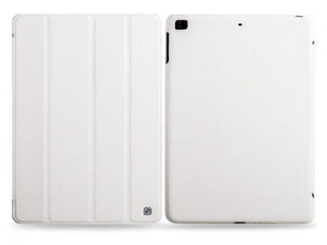 Чехол-книжка Hoco Duke Series для Apple iPad Air / 2017 (искусственная кожа с подставкой) белыйдля Apple iPad Air<br>Чехол-книжка Hoco Duke Series для Apple iPad Air / 2017 (искусственная кожа с подставкой) белый<br>