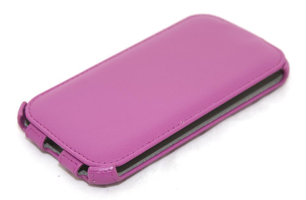 Чехол-книжка Armor Flip Case для Samsung Galaxy S5 i9600 искусственная кожа (фиолетовый) фото