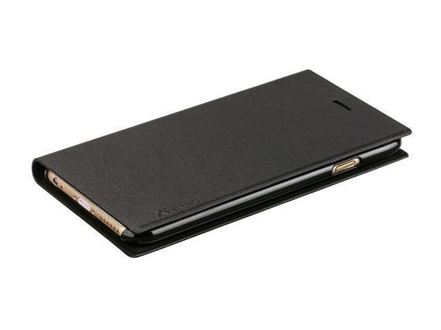 Чехол-книжка X-Fitted  Flip Pro для Apple iPhone 6 Plus/6S Plus натуральная кожа черныйдля iPhone 6 Plus/6S Plus<br>Чехол-книжка X-Fitted  Flip Pro для Apple iPhone 6 Plus/6S Plus натуральная кожа черный<br>