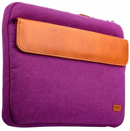 Чехол с ручкой для ноутбука XOOMZ 320x240x30mm для Apple MacBook до 12 Дюймов Фиолетовый