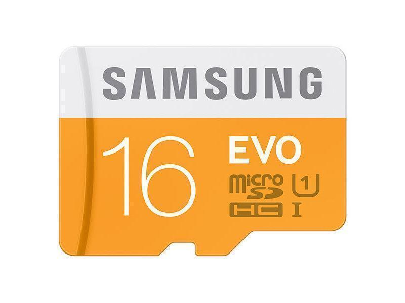 Карта памяти Samsung microSDHC EVO 48MB/s Class10 16GB (MB-MP16D)microSD<br>Карта памяти Samsung microSDHC EVO 48MB/s Class10 16GB (MB-MP16D)<br>