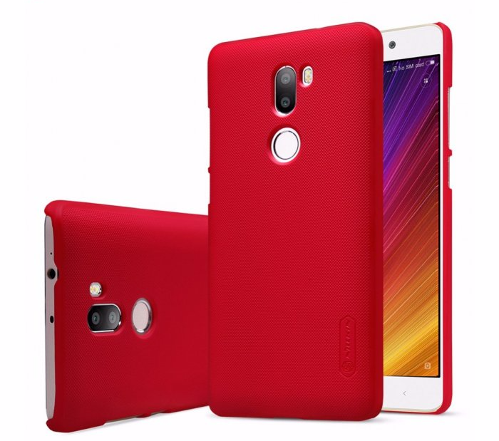 Чехол-накладка Nillkin Frosted Shield для Xiaomi Mi5S Plus пластиковый красныйдля Xiaomi<br>Чехол-накладка Nillkin Frosted Shield для Xiaomi Mi5S Plus пластиковый красный<br>