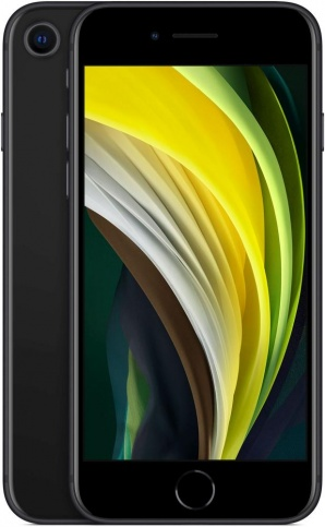 Apple iPhone SE (2020) 64GB (Black) (MX9R2RU/A) фото