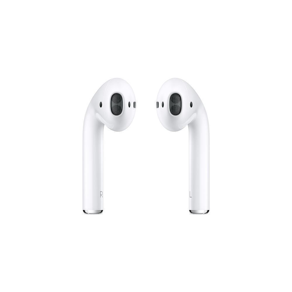 Фото #1: Беспроводные Bluetooth cтерео-наушники Apple AirPods (MMEF2) белый