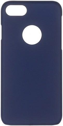 Чехол-накладка iCover Rubber для Apple iPhone 7/8 пластиковый тёмно-синий (IP7-RF-NV)для iPhone 7/8<br>Чехол-накладка iCover Rubber для Apple iPhone 7/8 пластиковый тёмно-синий (IP7-RF-NV)<br>