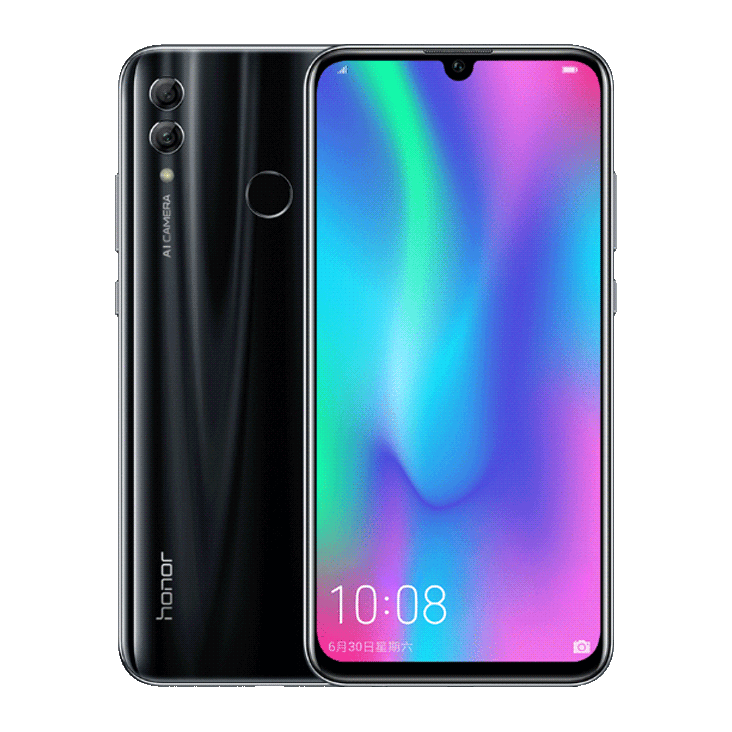 Huawei Honor 10 Lite 3/32GB (Полночный черный) (HRY-LX1)