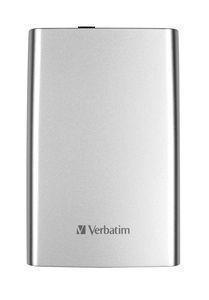 Внешний жесткий диск HDD  Verbatim   500 GB  StorenGo серебро, 2.5, USB 3.0  (53021)Жесткие диски<br>Внешний жесткий диск HDD  Verbatim   500 GB  StorenGo серебро, 2.5, USB 3.0  (53021)<br>