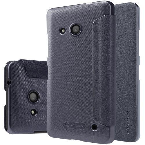 Чехол-книжка Nillkin Sparkle Series для Microsoft Lumia 550 пластик-полиуретан (черный)для Nokia/Microsoft<br>Чехол-книжка Nillkin Sparkle Series для Microsoft Lumia 550 пластик-полиуретан (черный)<br>