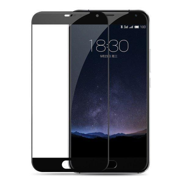 Защитное стекло Glass PRO (Full) Screen для Meizu M3s / M3 Mini цветное черная рамка