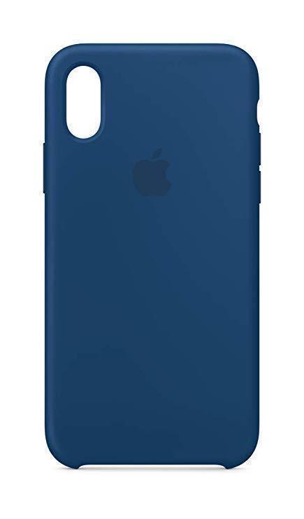 Купить Чехол-накладка Silicone Case для iPhone Xr силиконовый королевский синий