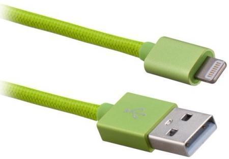 Кабель Momax Elite Link MFI (USB) на (Lightning) 100см Green(Apple lightning) кабели, переходники, адаптеры<br>Кабель Momax Elite Link MFI (USB) на (Lightning) 100см Green<br>