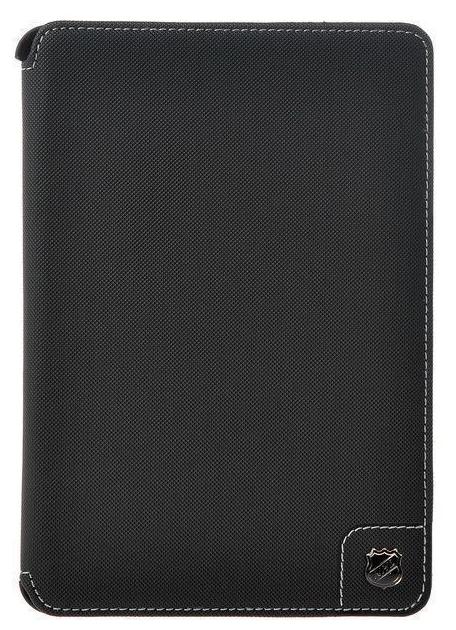Купить Чехол-книжка NHL для Apple iPad mini 1/2/3 текстиль с подставкой (белые нитки) (черный)