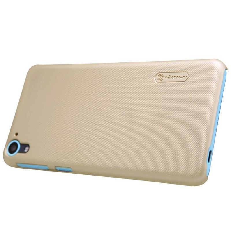 Чехол-накладка Nillkin Frosted Shield для HTC Desire 826 пластиковый Goldдля HTC<br>Чехол-накладка Nillkin Frosted Shield для HTC Desire 826 пластиковый Gold<br>