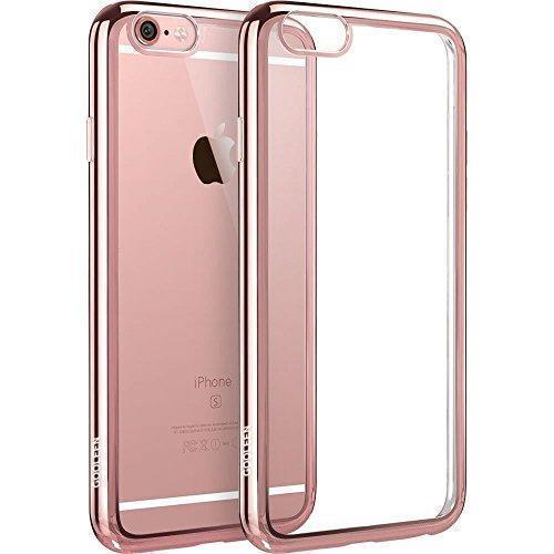 Чехол-накладка Hoco Light Series для Apple iPhone 6 Plus/6S Plus силиконовый прозрачно-розоыйдля iPhone 6 Plus/6S Plus<br>Чехол-накладка Hoco Light Series для Apple iPhone 6 Plus/6S Plus силиконовый прозрачно-розоый<br>