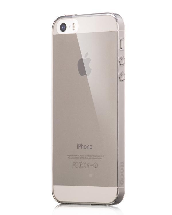 Чехол-накладка Hoco Light Series для Apple iPhone SE/5S/5 силиконовый прозрачнаядля iPhone 5/5S/SE<br>Чехол-накладка Hoco Light Series для Apple iPhone SE/5S/5 силиконовый прозрачная<br>