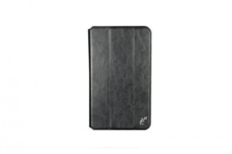 Чехол-книжка G-Case для ASUS ZenPad 8.0 Z581KL (натуральная кожа с подставкой) чёрный