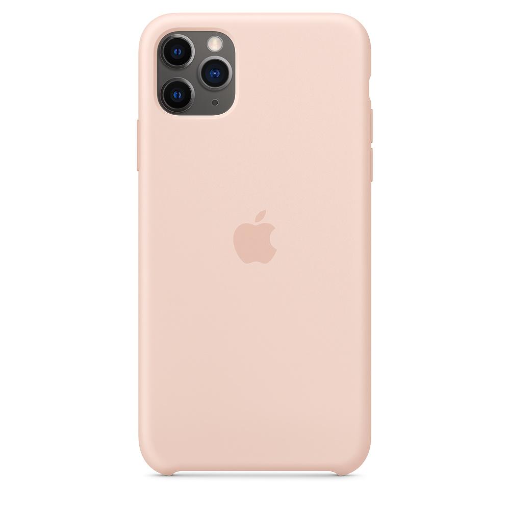Купить Чехол-накладка Apple Silicone Case Series для iPhone 11 Pro Max силикон (Pink Sand) (MWYN0FE/A)