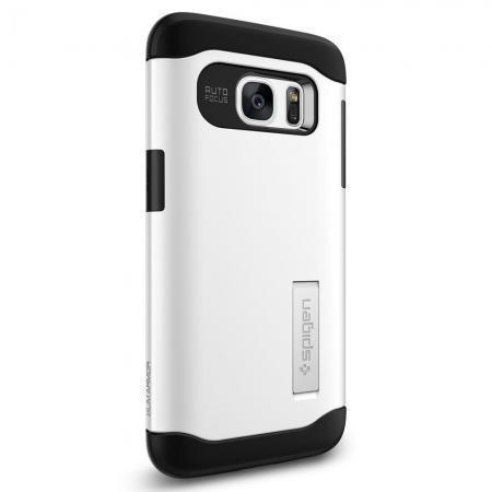Чехол-накладка Spigen Slim Armor для Samsung Galaxy S7 (SGP 555CS20013) Shimmery Whiteдля Samsung<br>Чехол-накладка Spigen Slim Armor для Samsung Galaxy S7 (SGP 555CS20013) Shimmery White<br>