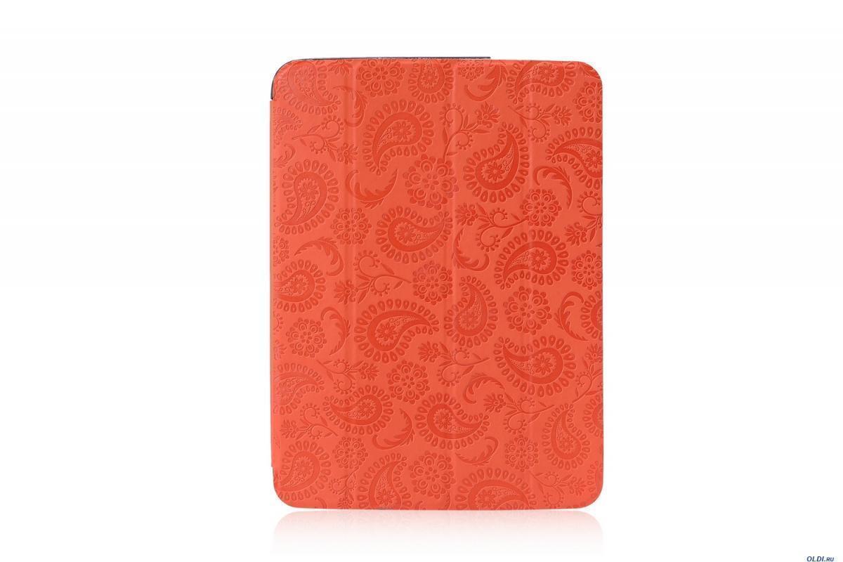 Чехол-книжка Gissar Paisley для Samsung Galaxy Tab 3 10.1 (P5200/P5210) натуральная кожа оранжевый