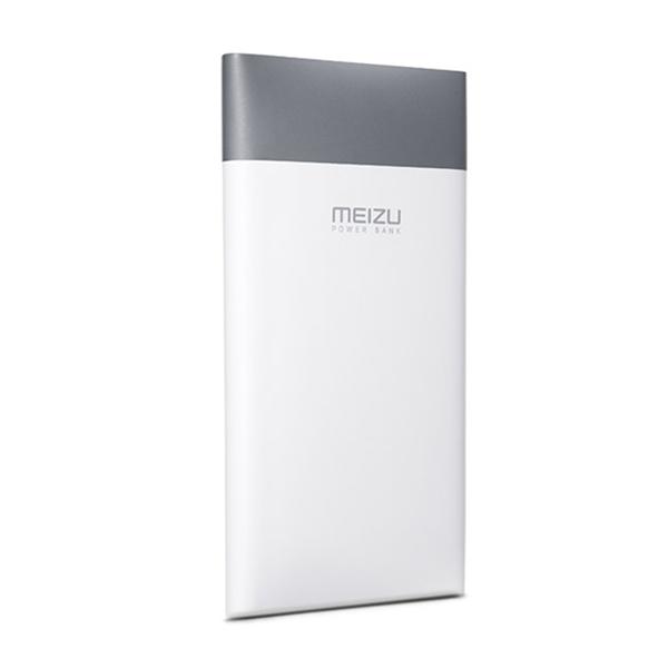 Универсальный внешний аккумулятор Meizu M8 10000 mAh, 2.1 А, USBx1 пластик белый