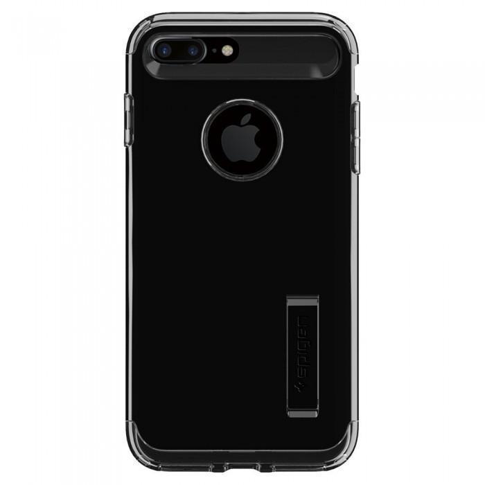 Чехол-накладка Spigen Slim Armor для Apple iPhone 7 Plus/8 Plus Jet Black (SGP 043CS20851)для iPhone 7 Plus/8 Plus<br>Чехол-накладка Spigen Slim Armor для Apple iPhone 7 Plus/8 Plus Jet Black (SGP 043CS20851)<br>