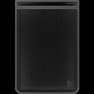 Чехол-накладка LunaTik (FJMN-001) для iPad mini 1/2/3 противоударный черный