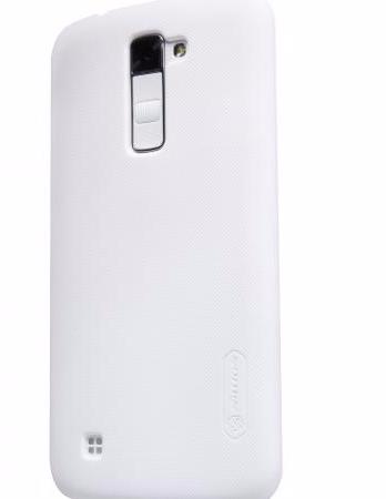 Чехол-накладка Nillkin Frosted Shield для LG K10 (K410/K420/K430) пластиковый белыйдля LG<br>Чехол-накладка Nillkin Frosted Shield для LG K10 (K410/K420/K430) пластиковый белый<br>