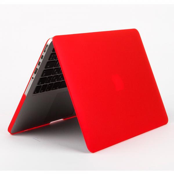 Пластиковый чехол Daav HardShell Satin для Macbook Pro with Retina Display 13 красныйдля Apple MacBook Pro 13 with Retina display<br>Пластиковый чехол Daav HardShell Satin для Macbook Pro with Retina Display 13 красный<br>