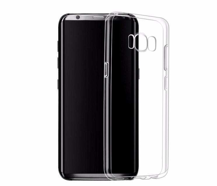 Чехол-накладка Hoco Light Series для Samsung Galaxy S8 (SM-G950) силиконовый прозрачный