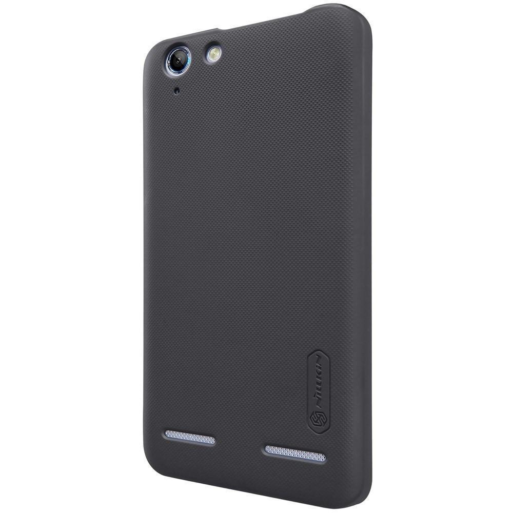 Чехол-накладка Nillkin Frosted Shield для Lenovo Vibe K5 / K5 Plus пластиковый черныйдля Lenovo<br>Чехол-накладка Nillkin Frosted Shield для Lenovo Vibe K5 / K5 Plus пластиковый черный<br>