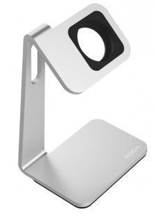 Док-станция Rock Table Stand для Apple Watch 38mm / Watch 42mm Silver/BlackДок-станцияи для Apple Watch<br>Док-станция Rock Table Stand для Apple Watch 38mm / Watch 42mm Silver/Black<br>